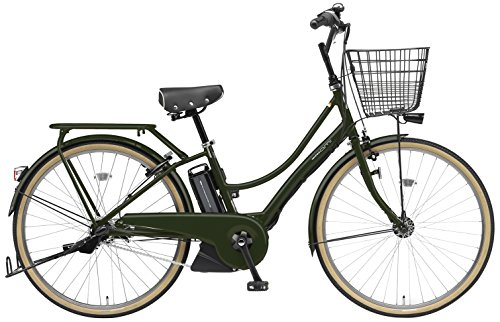 YAMAHA(ヤマハ) PAS Ami 電動自転車 26インチ 2015年モデル [新ドライブユニット、8.7Ahリチウムイオン電池、トリプルセンサーシステム] マットオリーブ PA26A