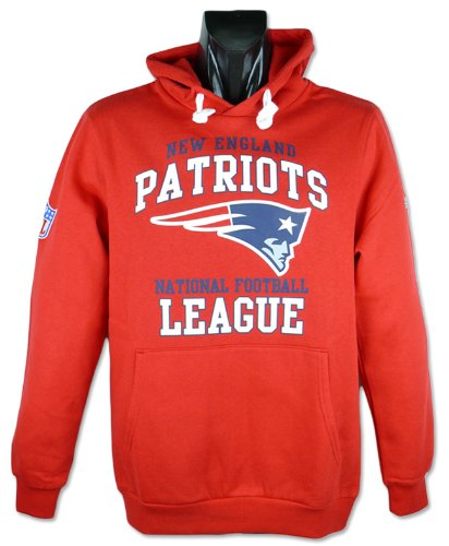 Majestic New England Patriots Franchise Hooded NFL Sweatshirt (S)