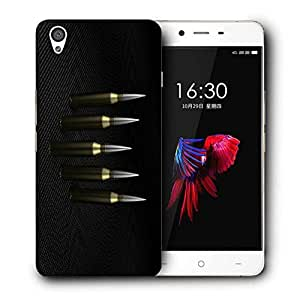 Snoogg Big Bullets Designer Protective Back Case Cover For ONEPLUS X