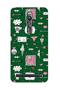 ZAPCASE PRINTED BACK COVER FOR ASUS ZENFONE 2