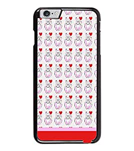 PrintDhaba Money Pattern D-1930 Back Case Cover for APPLE IPHONE 6 PLUS (Multi-Coloured)
