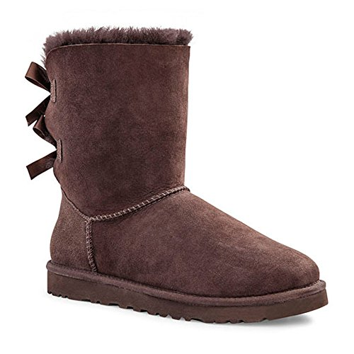 Ugg Australia Bailey Bow Women US 5 Brown Winter Boot (Chocolate Brown Uggs compare prices)