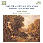 English Madrigals & Songs