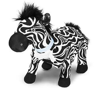 Zoobies Plush Toy, Zulu The Zebra