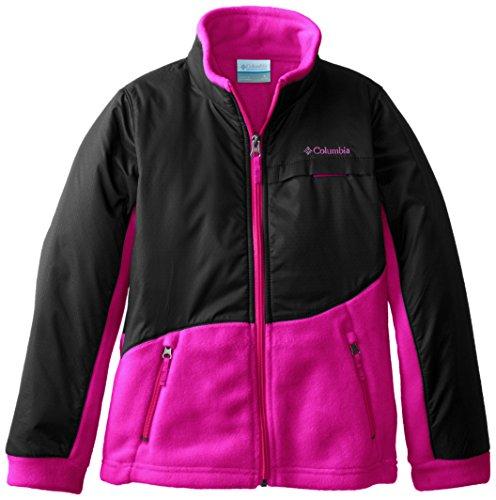 Columbia Big Girls' Benton Springs Overlay ,Groovy Pink, Medium front-1050274