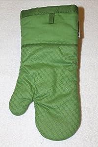 Kitchenaid oven mitt with printed silicone sage - Kitchenaid oven gloves ...