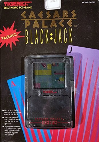 Black Jack Electronic LCD Game
