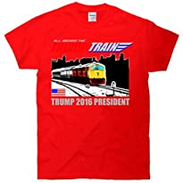 All Aboard The Trump Train 2016 President T Shirt