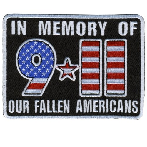 Hot Leathers In Memory 911 Patch (4