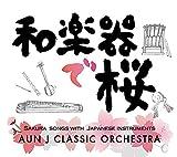 和楽器で桜