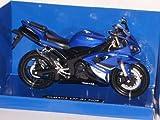 Yamaha Yzf-r1 R 1 2008 Blau 1/12 New Ray Motorradmodelle Motorrad Modelle
