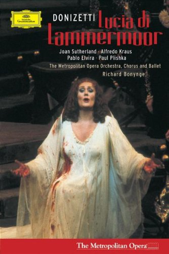 Lucia Di Lammermour (Sutherland - Kraus) - Donizetti - DVD