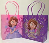 Sofia Disney Princess Party Favor Goodie Small Gift Bags 12 Pack