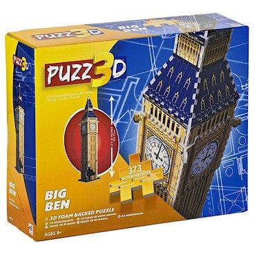 Puzz 3d Big Ben Foam Backed Puzzle - 373 Pieces