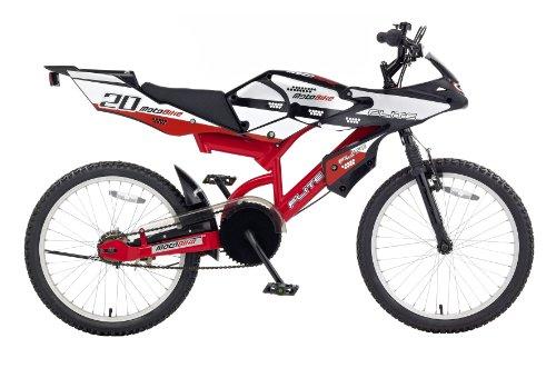 Boys 20 Inch Bike >> Mountain Bikes Flite Moto Gp Boys Action Bike Black Red