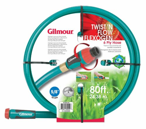 Gilmour Twist n Flow Flexogen Hose With Built-in Flow Control 10-58080TNF (Discontinued by Manufacturer)