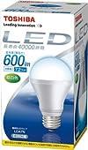 TOSHIBA E-CORE(イー・コア) LED電球(フィンレス構造・E26口金・一般電球形7.2W・白熱電球40W相当・600ルーメン・昼白色) LDA7N
