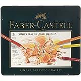 Faber-Castell POLYCHROMOS Artist Color Pencils Color Pencil Tin - 24 count 110024 Metal Tin of 24