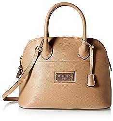 Valentino Bags by Mario Valentino Women's Copia Dome Satchel, Cappuccino