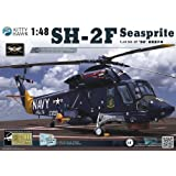 KTH80122 1:48 Kitty Hawk SH-2F Seasprite Helicopter MODEL KIT