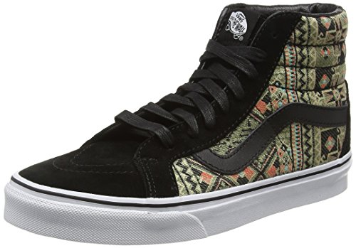 vans-sk8-hi-reissue-scarpe-da-ginnastica-alte-unisex-adulto-multicolore-moroccan-geo-black-ivy-green