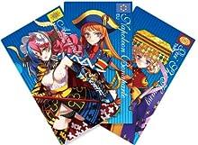 英雄*戦姫 ミニクリアファイル3枚セット 青パック