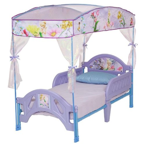 Disney Fairies Canopy Toddler Bed