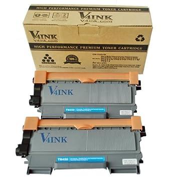 4 Pack V4INK Compatible Brother TN450 Toner Cartridge Black