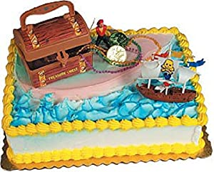 Oasis Supply Pirate's Treasure and Ship Cake Kit
