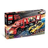 8160 * CRUNCHER BLOCK & RACER X * LEGO Speed Racer Series 367 Piece Building Set (Includes 4 LEGO Minifigures...