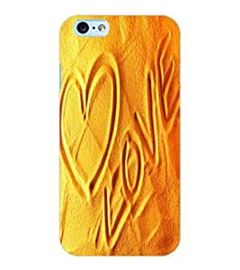 ColourCraft Love image Design Back Case Cover for APPLE IPHONE 6S