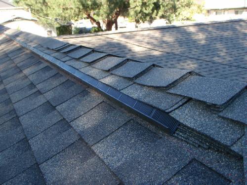 VenturiVent Plus Shingle-Over Ridge Vent - Roof Vents