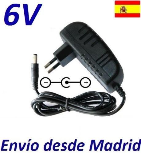cargador-corriente-6v-reemplazo-bicicleta-eliptica-nordictrack-e40-recambio-replacement