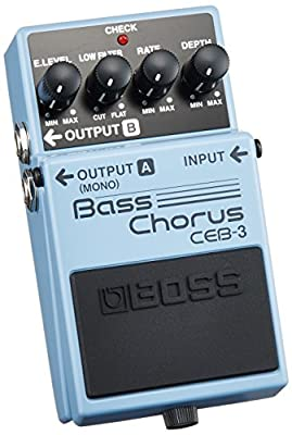 BOSS CEB3 CHORUS Bass effects Bass pedals