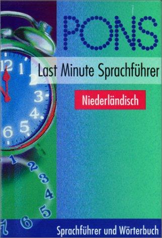 PONS Last Minute Sprachführer, Niederländisch
