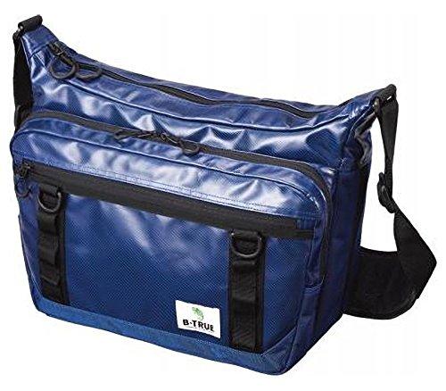 エバーグリーン(EVERGREEN) Bトゥルー(B-TRUE) エクスパンダブルショルダーバッグ ブルーの商品画像