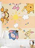 Disney Pooh Soft and Fuzzy Wall Decals