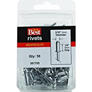 Do it Best Global Sourcing 381705 Do it Best POP Rivets-3/16X1/4 ALUM RIVET