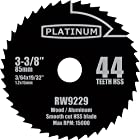 1 Pc 3-3/8-inch 44t HSS Saw Blades for Rockwell Versa Cut. 44t (44 Tooth) High Speed Steel Blades Designed for the Rockwell Versacut.