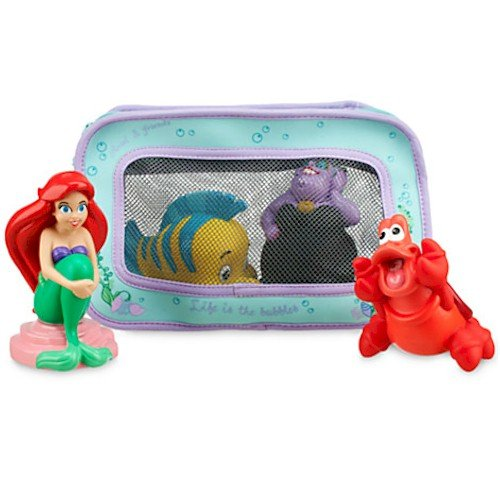 Disney Ariel Bath Toys for Baby - 1