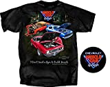 Chevrolet Muscle Car Garage Men's T Shirt Camaro