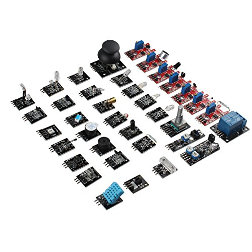 37 in 1 Arduino Sensor Module Kit Pack Learning Package Kit for Arduino UNO (Pic Microcontroller Starter Kit compare prices)