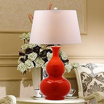 crf retro red gourd ceramic table lamp living room decorative lamp. Black Bedroom Furniture Sets. Home Design Ideas