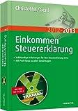 """Einkommensteuererklärung 2012/2013: Mit Software """"TAXMAN spezial"""""""