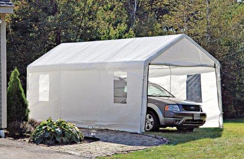 Window Wih Shelterlogic Instant Garage : Shelter logic canopy
