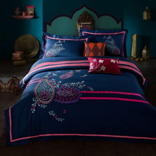 Peacock Print Bedding 6677 front