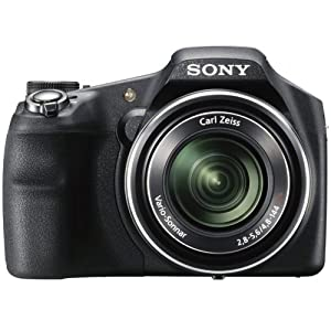 Sony DSC-HX200V Digitalkamera (18 Megapixel, 30-fach opt. Zoom, 7,6 cm (3 Zoll) Display, Full HD, GPS, Schwenkpanorama)