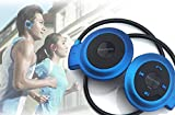 Jiafeng® Mini-503 Bluetooth V4.0 Wireless Stereo Bluetooth Earphone Sport Headset Music Headphone with Built-in Microphone CSR A2DP AVRCP For iPhone Samsung Cell Phones ipad (blue)