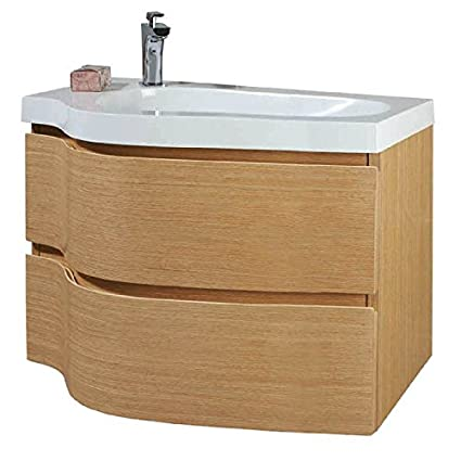 Phoenix Wave 80 Unit & Basin - Beech FU151