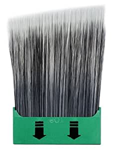 "Paintbrush Insert(Only): 2-1/2"" Insert For The SnapHold Paint Brush. The Removable/Replaceable Insert, With Its Nylon/Polyester Filaments, Snaps Into, Or Out Of, The Handle (Sold Separately) In 5 Seconds. Great For Paint Color Changes. Easy Clean Up"